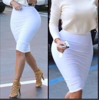 kim kardashian kardashians shirt skirt