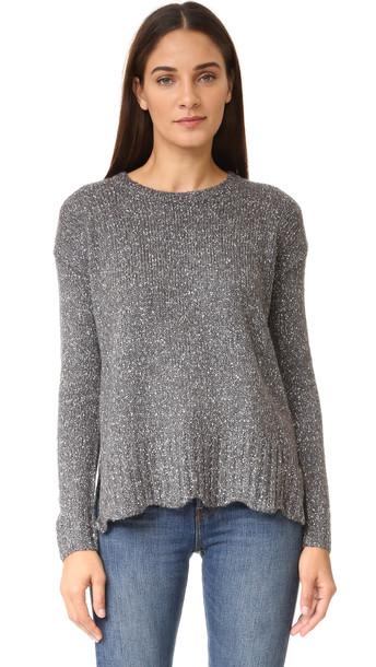 Velvet Barabell Sweater - Grey