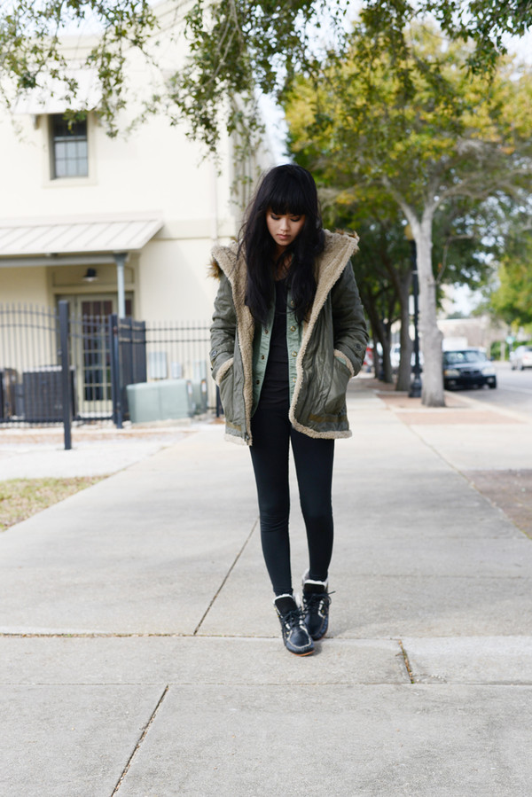 behind the seams coat blouse t-shirt shoes