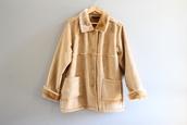 coat,suede coat,brown suede coat,vintage suede coat,suede fur coat
