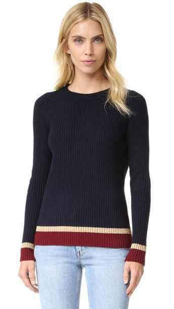 Chinti and Parker sweater navy