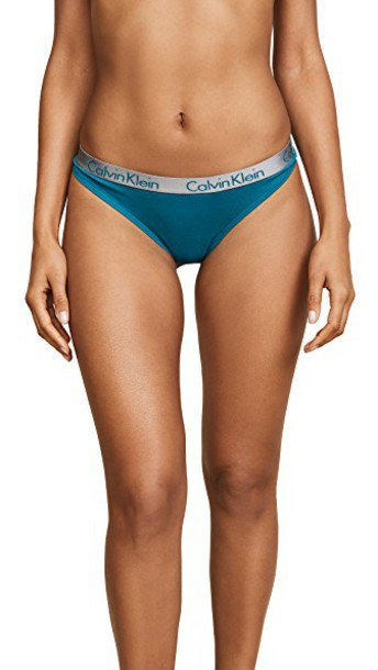 CALVIN KLEIN UNDERWEAR thong cotton underwear