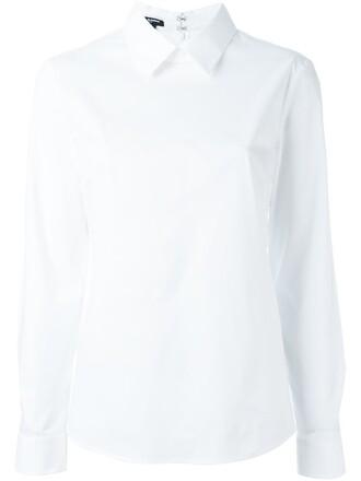 shirt blouse white top
