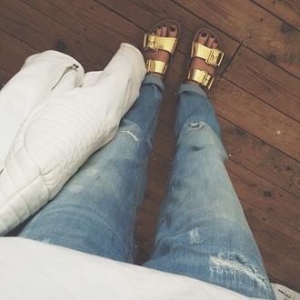 goth shoes metallic shoes