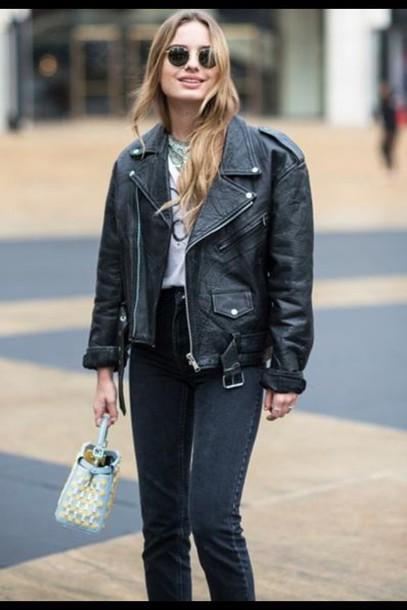 coat black blouse black jacket