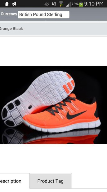 shoes orange and black nike free run 5.0 orange nike