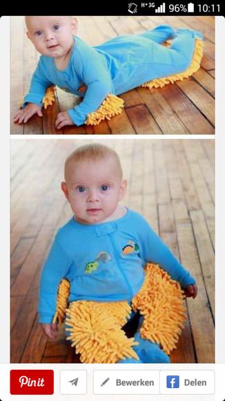 pajamas baby babymopper funny
