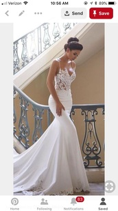 dress,white,lace,wedding dress