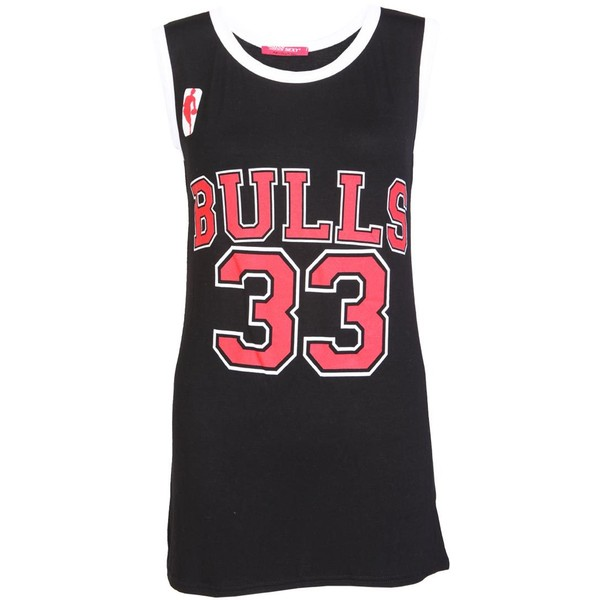 Bulls 33 Casual Top - Polyvore