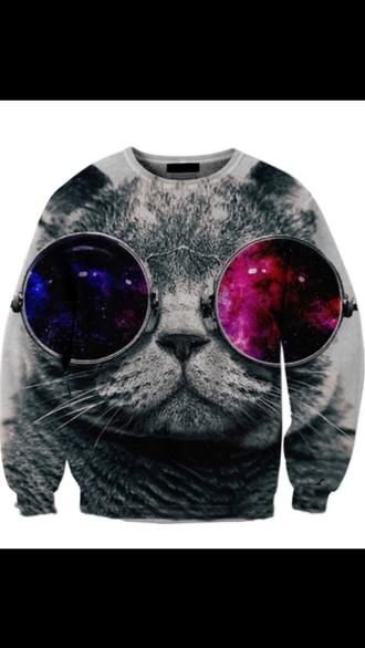 sweater cats funny sweatshirt