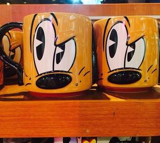 home accessory black white mugshot mug cup set mug cartoon brown style