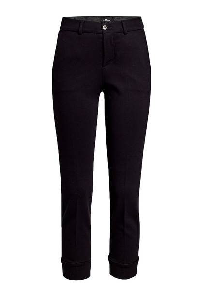 7 for all Mankind Tailored Chinos  in black
