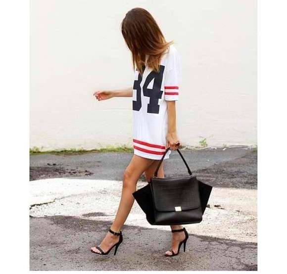 basket dress shirt football bag