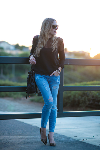 eat sleep wear sweater jeans shoes bag jewels