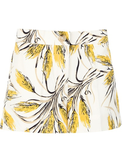 Tory Burch Wheat Print Shorts - Al Duca D'aosta - Farfetch.com
