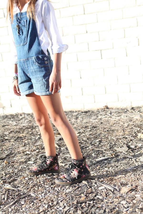 shorts denim denim overall shorts jean bib overall shorts coveralls DrMartens