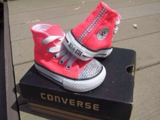 5e657e9c2424 shoes pink converse baby diamonds