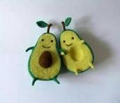 home accessory,green,avocado,hug,cute,soft,toy