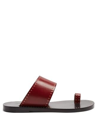 embellished sandals embellished sandals burgundy shoes