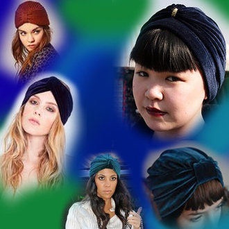 turban scarf chic cap blue hat pink hat green hat black hat grey hat red hat