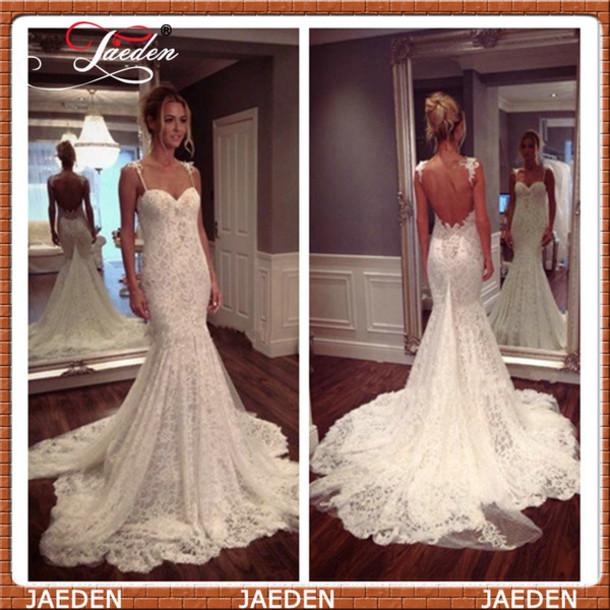 Wedding Dress Mermaid Wedding Dress Lace Wedding Dress Sexy