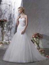 dress,mermaid wedding dress,flowers,sweetheart dress,beautiful