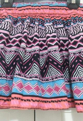 Flared aztec/tribal print mini-skirt. | Veedoll | ASOS Marketplace