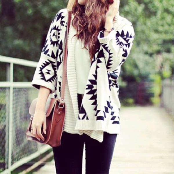 sweater swater aztec aztec sweater oversized sweater