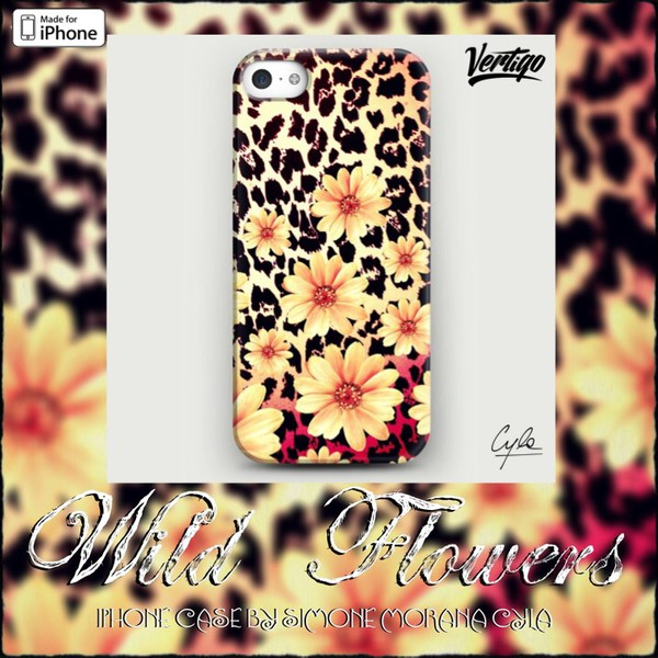 jewels iphone case fashion girly flowers vintage ebay vertigo leopard print skinny pants
