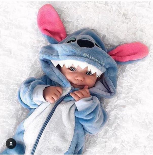 55f33fdce4f1 pajamas baby stitch baby clothing