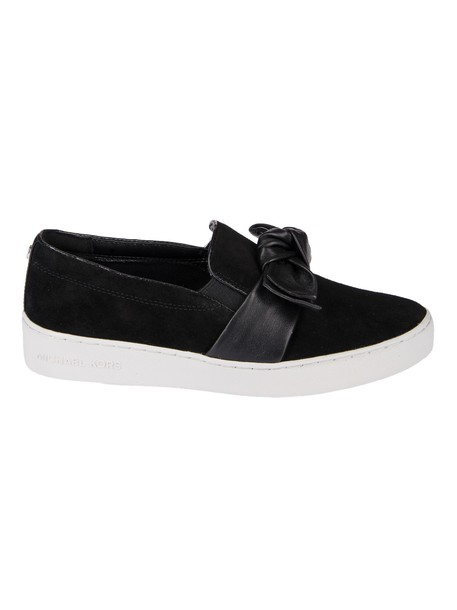 MICHAEL Michael Kors bow sneakers black shoes