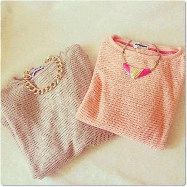 sweater jumper winter outfits knitwear jewelry necklace jewels