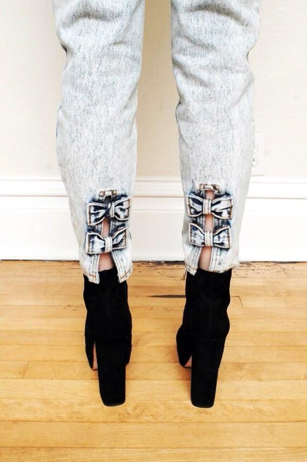 jeans acid wash acid wash jeans bow legs