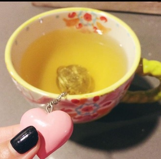 bag tea ball infuser tea ball tea infuser mug home decor tea heart