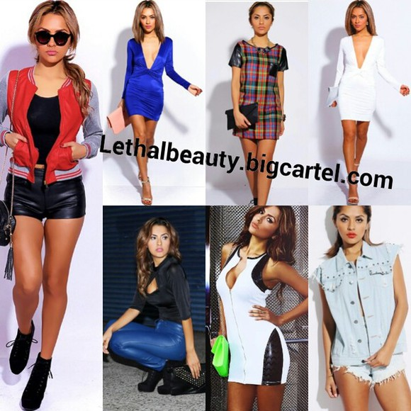 dress sexy dress red denim vest denim white dress bodycon bodycon dresses deep v neck dress deep vneck white bodycon dress black bodysuit black, bodycon, dress, hot, sexy plaid leather pu sleeve varsity jackets deep v dress vneck