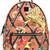 MCM printed backpack, Brown, Leather