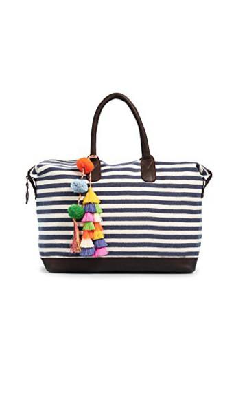 JADEtribe weekender bag tassel bag