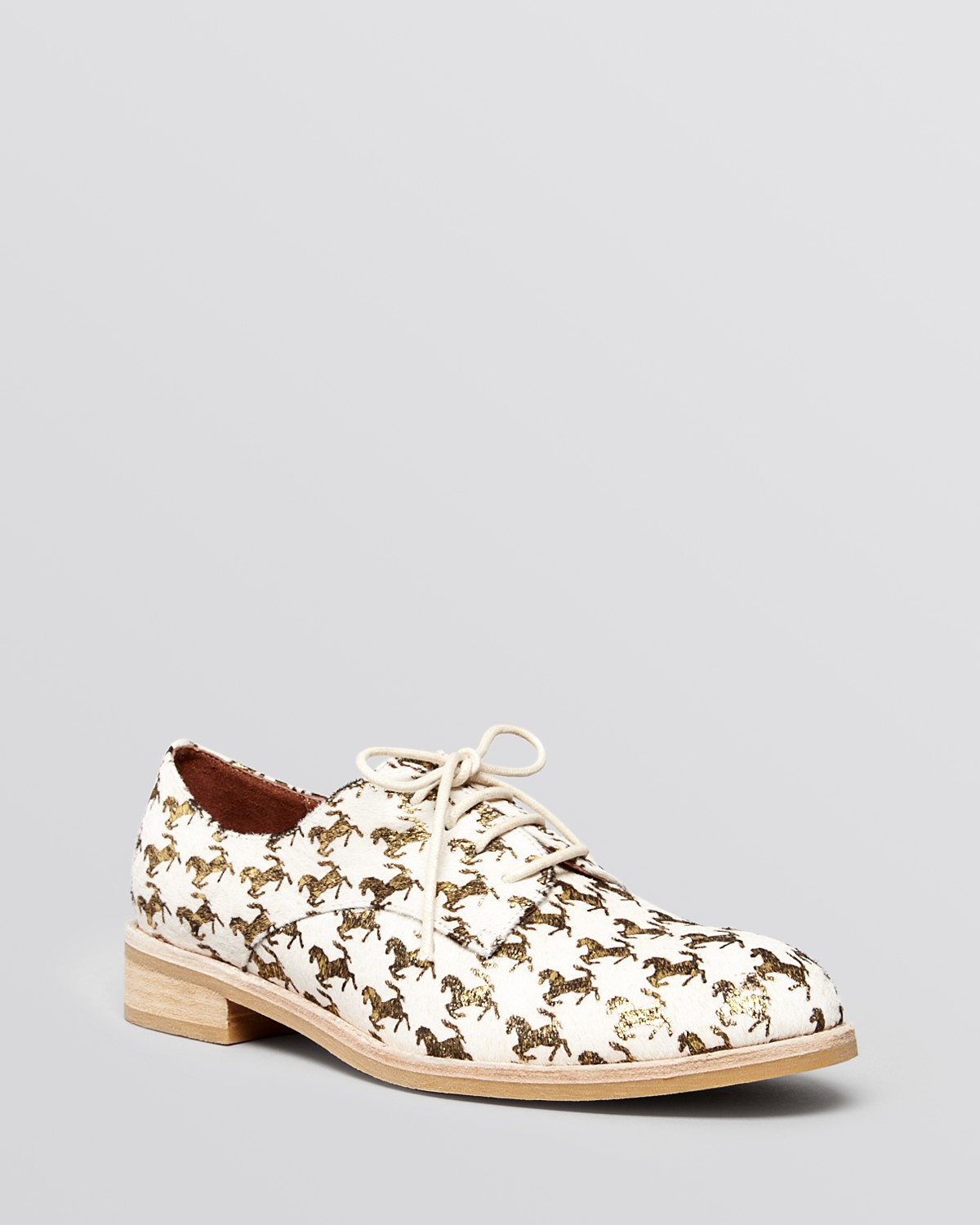 Jeffrey campbell lace up oxford flats