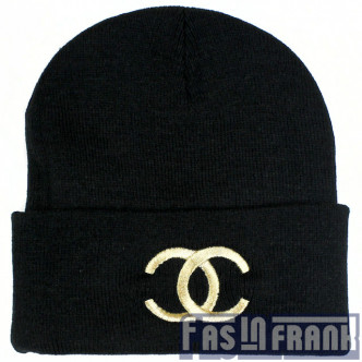 Chanel Gold Black Beanie | F as in Frank Vintage Clothing ($20-50) - Svpply