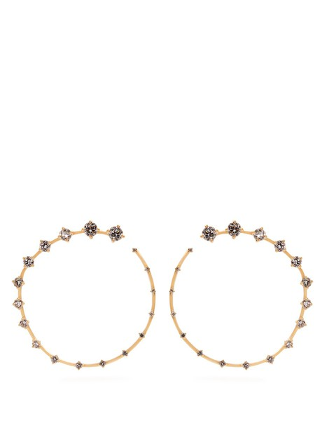Fernando Jorge earrings gold yellow jewels