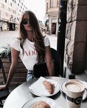 shirt,vogue,the vogue word