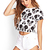 Smiling Mickey Print Tee | FOREVER21 - 2000121384