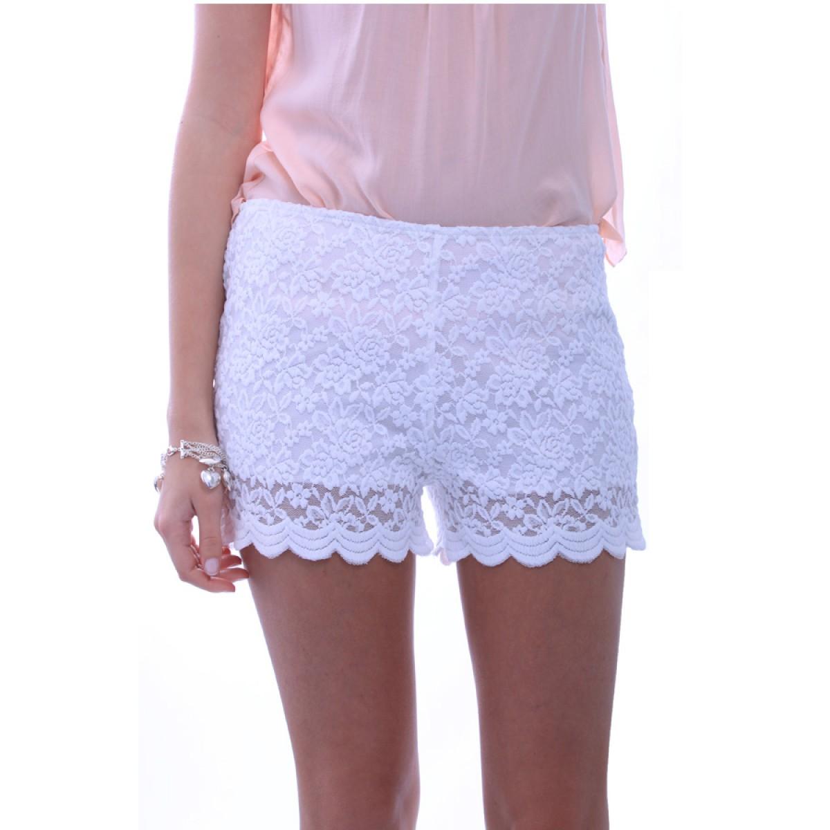 Lace Shorts - Oa Uvw I