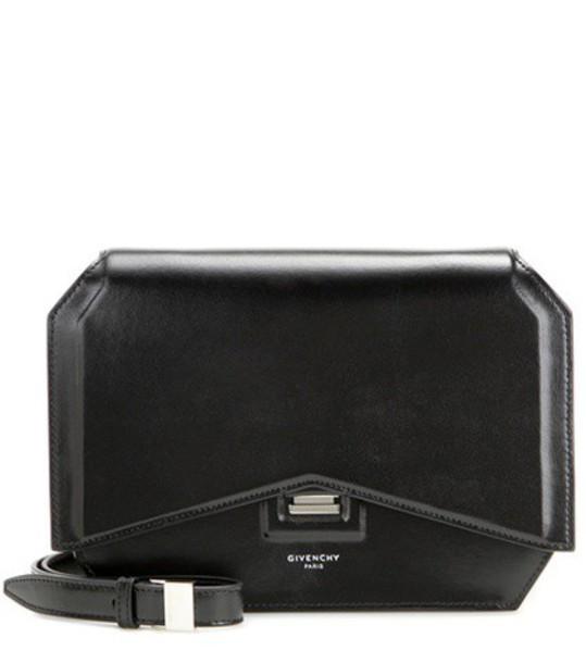 Givenchy bow bag shoulder bag leather black
