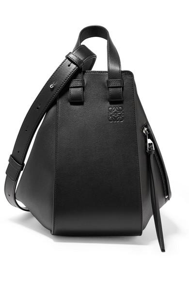 Loewe - Hammock small textured-leather shoulder bag