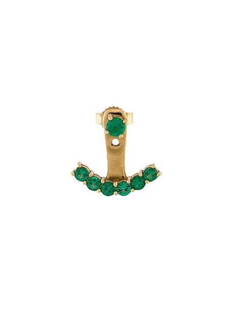 women gold green yellow jewels