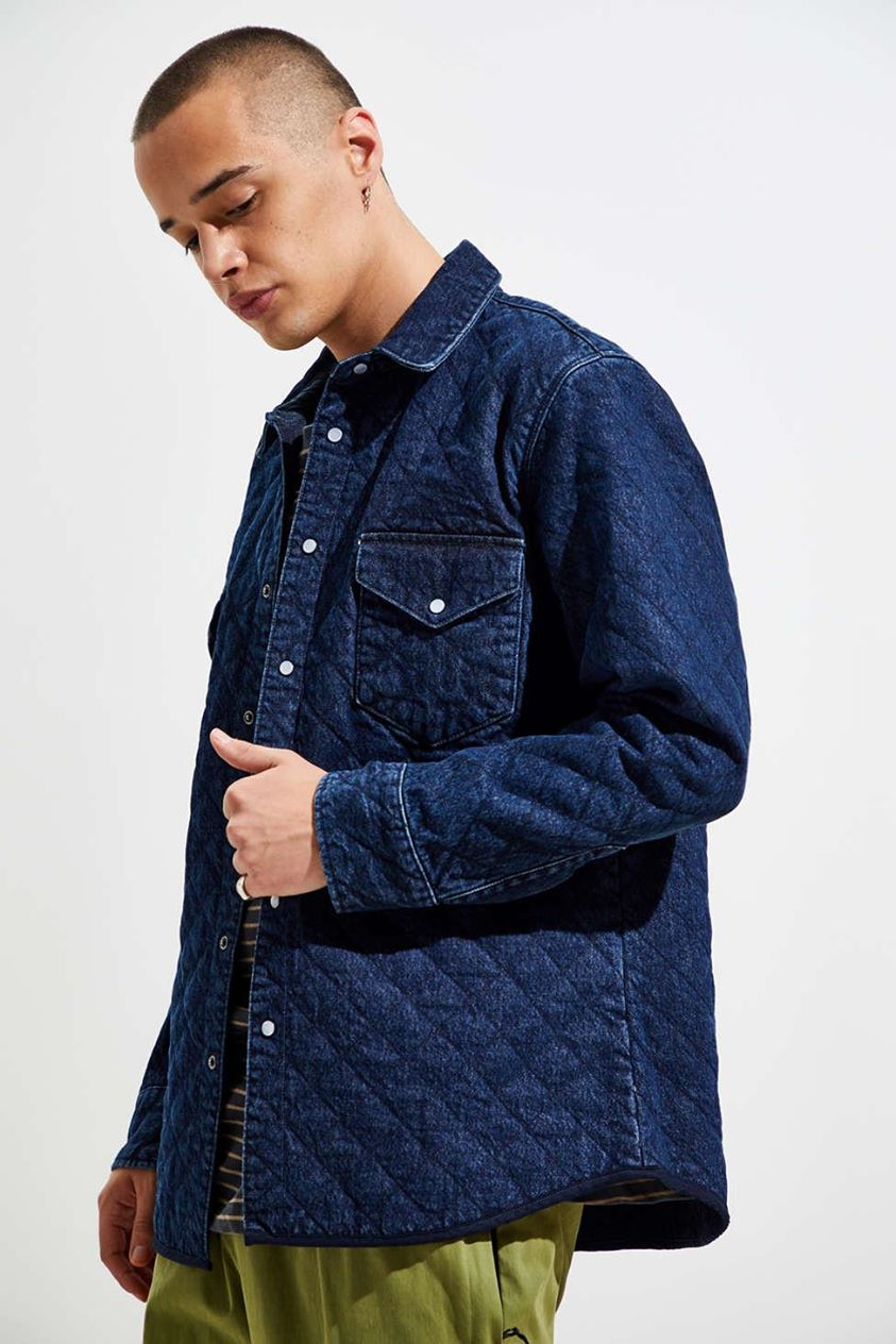 Levi's Made & Crafted Quilted Western Button-Down Shirt