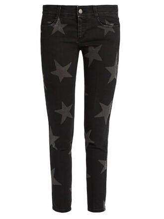 jeans fit print black