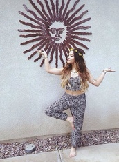 top,crop tops,black and white,vanessa hudgens,jumpsuit,neutral,stella hudgens,soft grunge,boho
