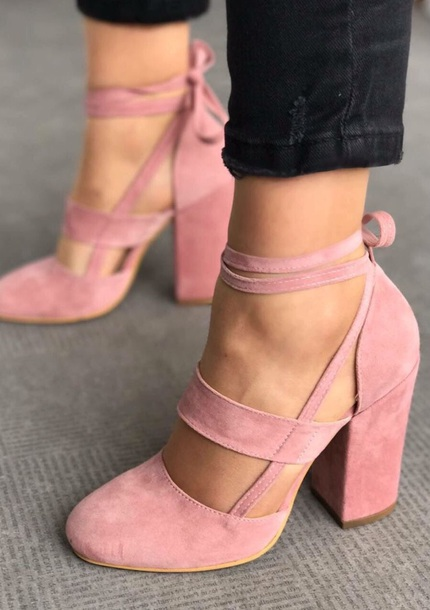shoes high heels pink straps ballet trendy suede elvia pudra heels strappy heels girly pink suede block heel pumps shoes c elvia suede shoes sandals summer pumps nude pink heels pastel pink pink shoes hot nude heels velvet shoes pink high heels